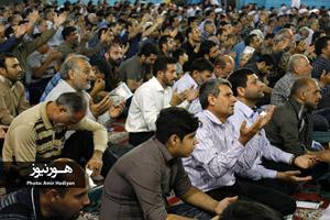 گزارش تصویری/ مراسم دعای عرفه در مصلی اهواز