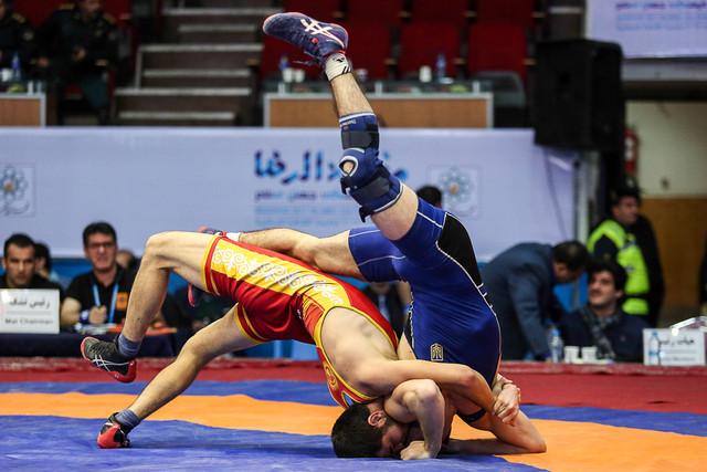 ایران قهرمان کشتی جام تختی