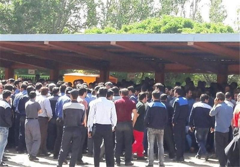 کارگران تولید شکر در کارخانه هفت تپه خوزستان را متوقف کردند