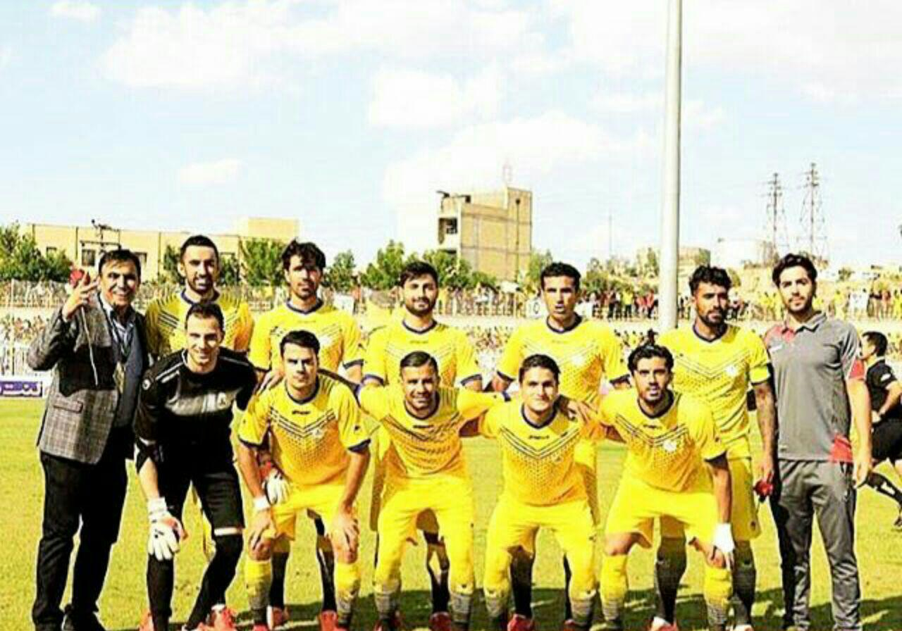 سلام نفتمسجدسلیمان به لیگ برتر