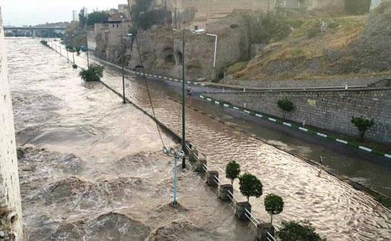 به زیر آب رفتن دشت خوزستان و شهر اهواز بر اثر تغییرات اقلیمی!