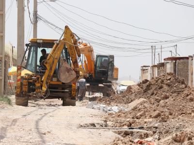 بیش از ۷ هزارمتر زیر ساخت شبکه جمع آوری فاضلاب خانگی زرگان در حال تکمیل