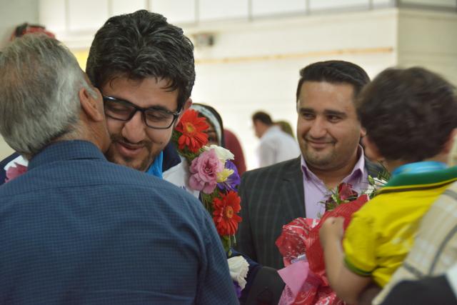تنیسور خوزستانی بر سکوی قهرمانی جهان
