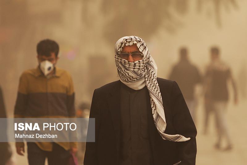 خوزستان تا چهارشنبه خاکی است