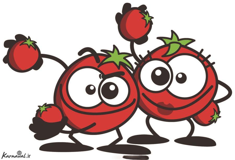طنز/ گوجه فرنگی تو دلم آب شده!