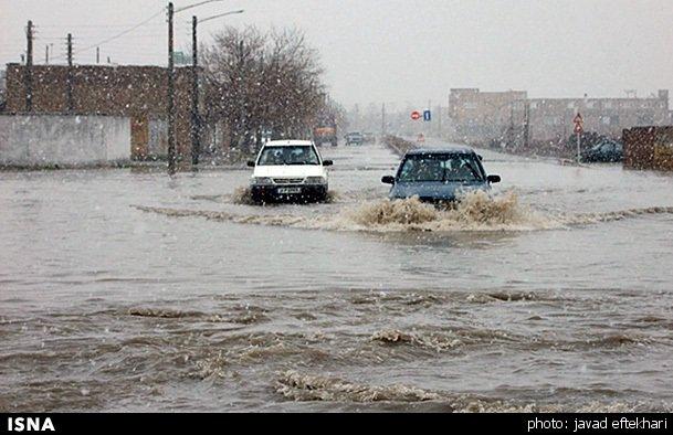 آخرین وضعیت محورهای خوزستان پس از بارندگی / جاده زیدون – گچساران مسدود است