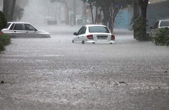 باران خوزستان را شست و برد