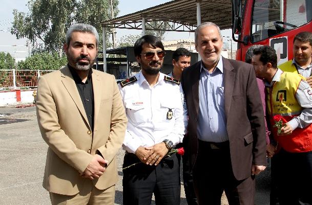 شهردار اهواز: آتش نشانی ایثارگری و تعهد نسبت به مردم و جامعه است