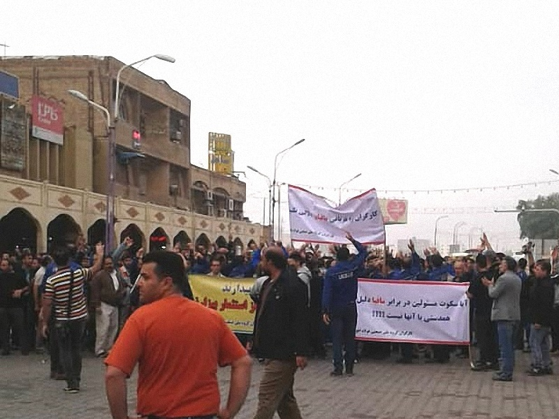 تجمع کارگران گروه ملی در اهواز، پیگیری ها در بهارستان