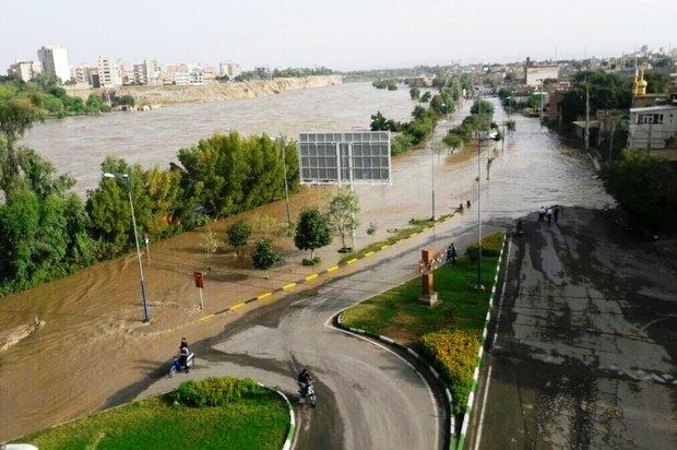 وضعیت روستاهای حاشیه رودخانه در حوضه بامدژ تحت کنترل است