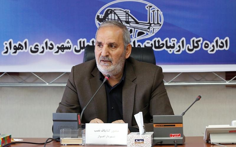 شهردار اهواز خبر داد: احداث فاز اول ۱۰ ایستگاه ریل باس در ماههای آینده