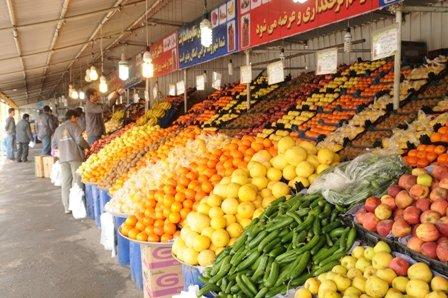 ثبات نسبی قیمت انواع میوه و ترهبار در بازار