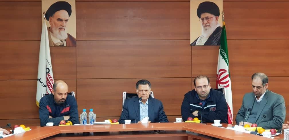 در نشست مشترک مدیران شرکتهای فولاد خوزستان و فولاد اکسین/ هدف ما دستیابی به محصول نهایی خاص است