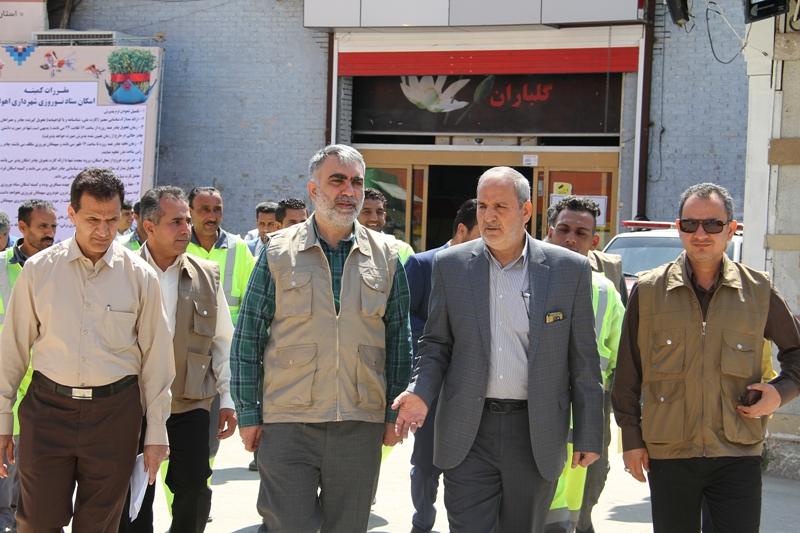 شهردار اهواز: برای ایجاد تحول در شهر برنامه ریزی کنید