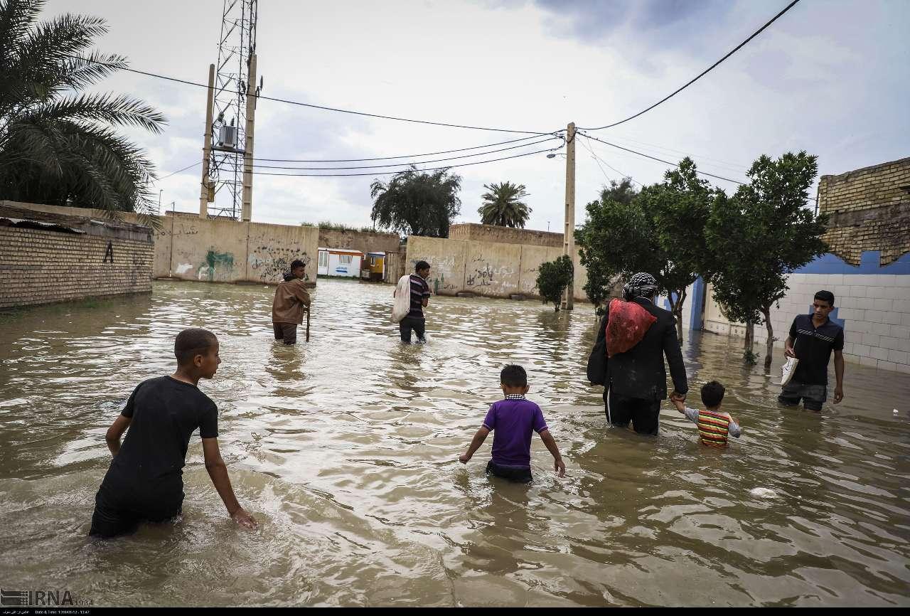 آبگرفتگی ۱۱۳ روستا در خوزستان ؛ ارزیابی تا آخرین روستا ادامه دارد