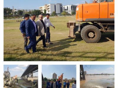 مدیرعامل شرکت آبفا اهواز: تصفیه خانه ها فعال اند ،آب باکیفیت درحال توزیع است