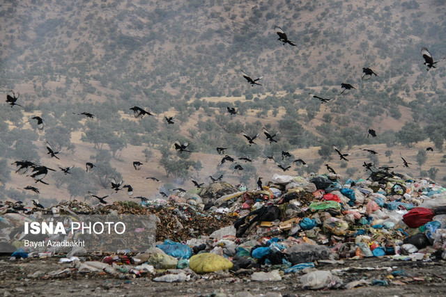 """سایت زباله """"راسفند""""، تهدید ۲۰ ساله بهداشت مردم دو روستای ایذه"""