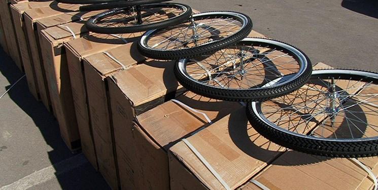کشف محموله میلیاردی دوچرخه قاچاق در دزفول