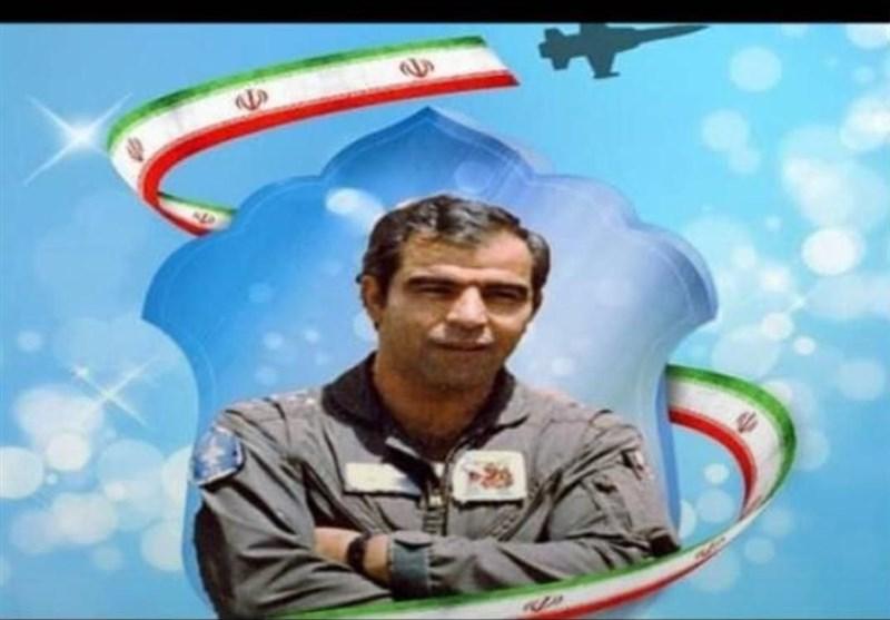بازگشت پیکر خلبان شهید پایگاه چهارم شکاری دزفول پس از ۳۳ سال به میهن