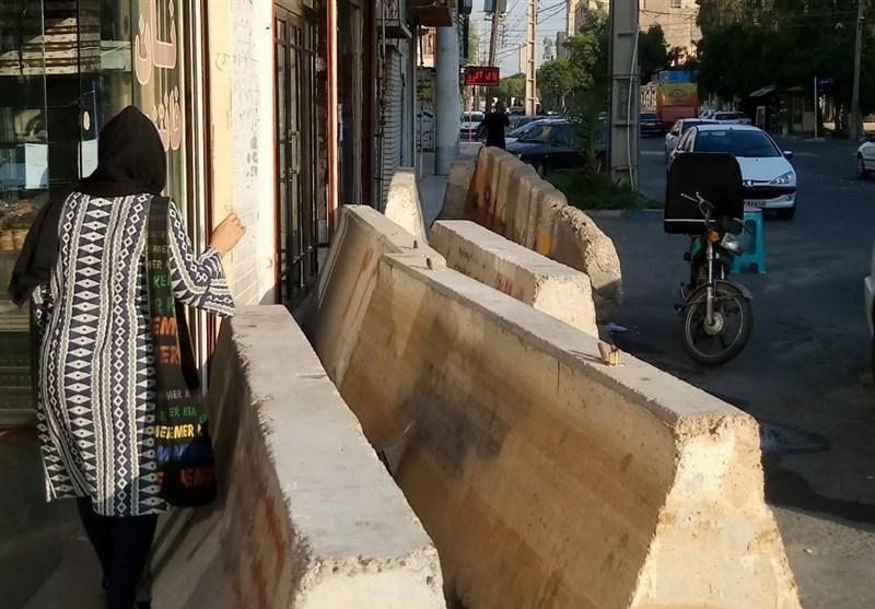 بازگشایی مسیرهای تردد مردم در سطح شهر اهواز
