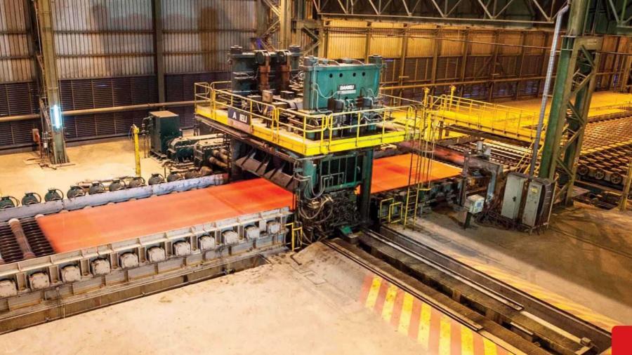 میزان تولید ده ساله فولاد اکسین شکسته شد