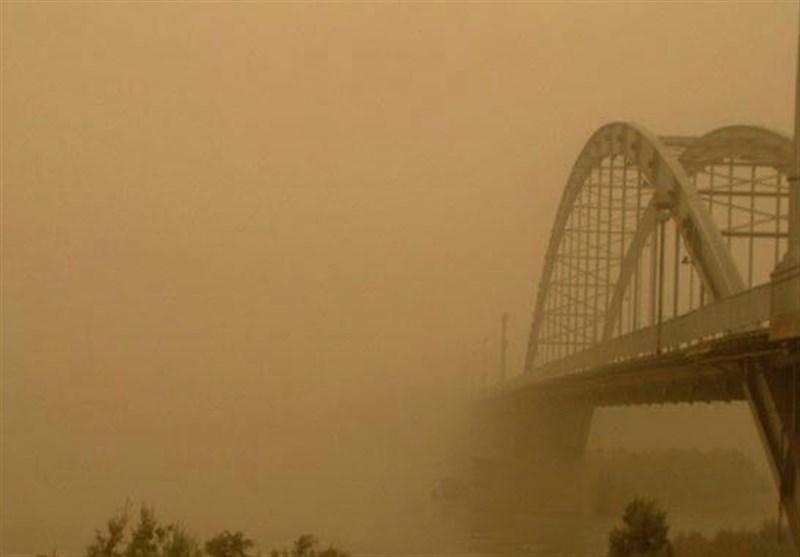 پیش بینی گرد و خاک و باد شدید در خوزستان