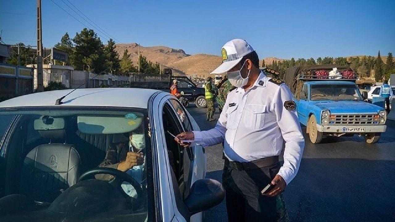 جریمه بیش از ۹ هزار خودرو در جادههای خوزستان
