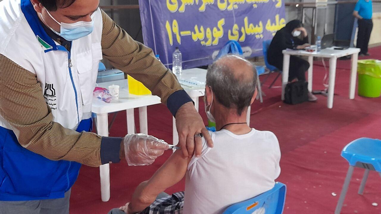 ۱۵۱ هزار خوزستانی واکسن کرونا دریافت کردند