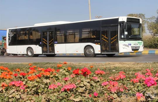 آغاز سرویس دهی اتوبوس های درون شهری
