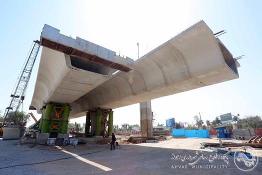 توسعه ی شهر اهواز با اجرای سریع پروژه های عمرانی