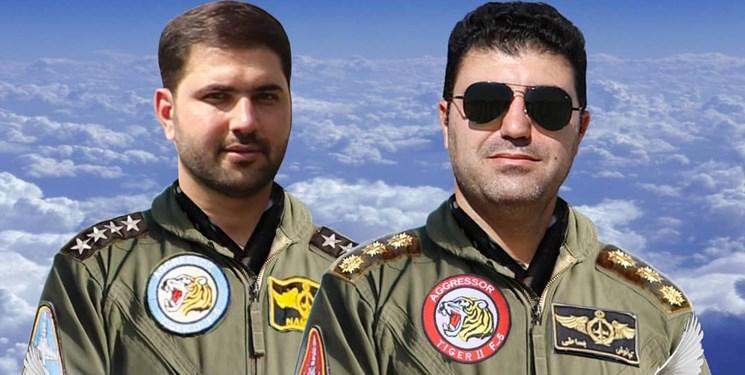 شهادت دو خلبان پایگاه چهارم شکاری دزفول