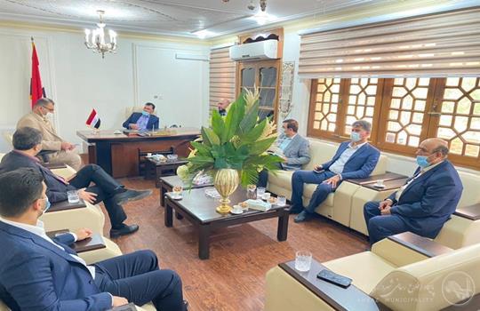 برگزاری نشست شهردار اهواز با سرکنسول گری عراق در خوزستان