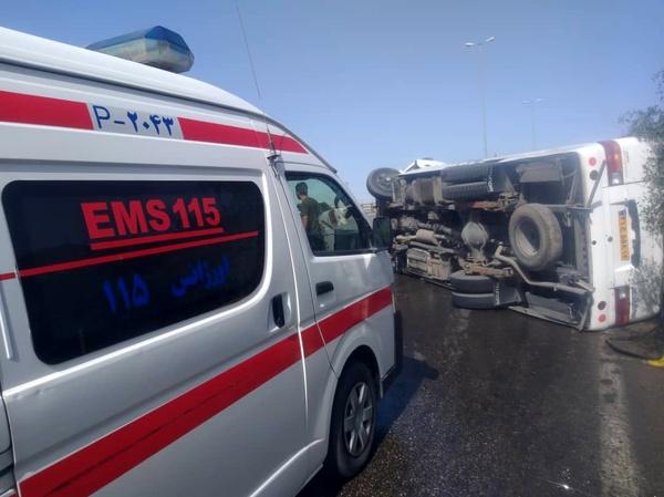 تصادف زنجیرهای در محور اندیمشک-دهلران ۹ کشته و مصدوم برجای گذاشت