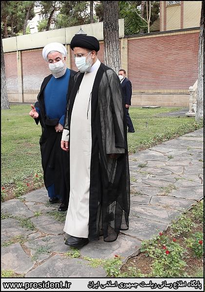 گزارش تصویری تحویل دفتر کار ریاست جمهوری اسلامی ایران