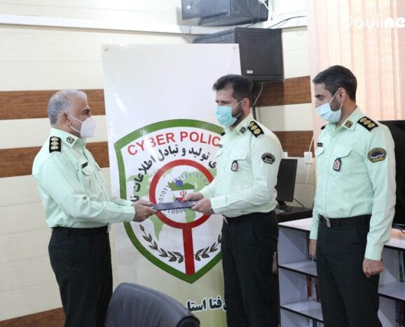 رئیس پلیس فتا استان خوزستان منصوب شد