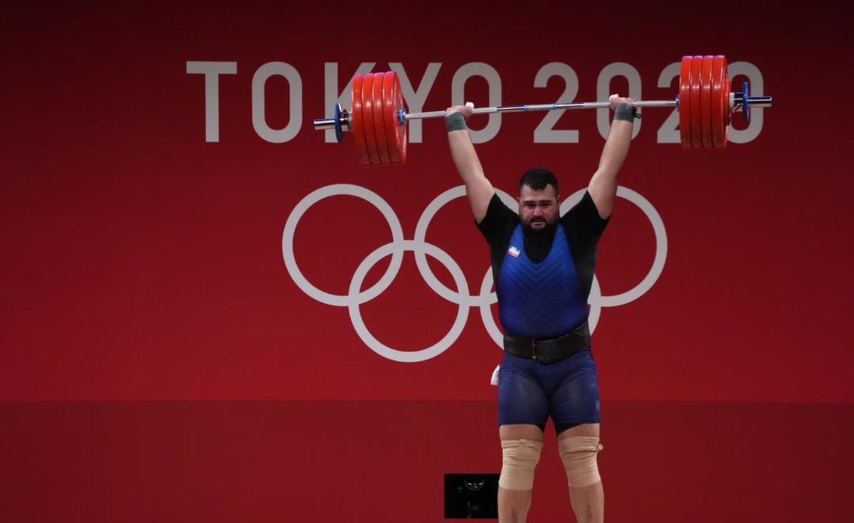 تبریک مدیرعامل فولاد خوزستان به نایب قهرمان وزنه برداری در المپیک توکیو
