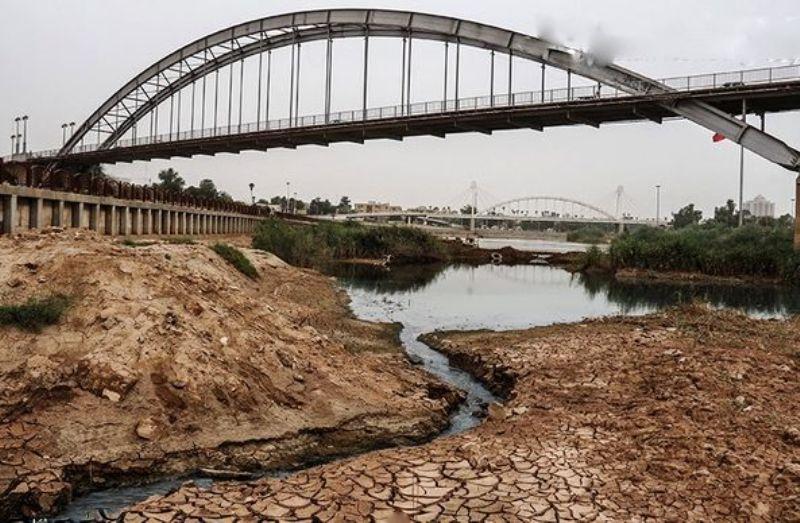تنش آبی خوزستان دستپخت وزارت نیرو
