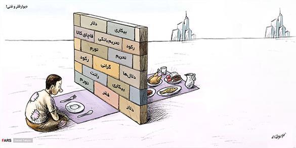 نیمی از درآمد ایران در اختیار ۲۰ درصد، سهم فقرا زیر ۶ درصد!