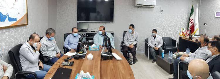 دیدار مدیرعامل فولاد خوزستان با مدیرعامل شرکت چند وجهی فولاد لجستیک
