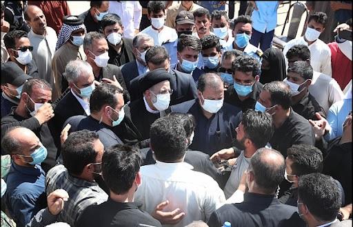 حکمرانی دینی یعنی حضور بدون تشریفات آیت الله رئیسی در خوزستان