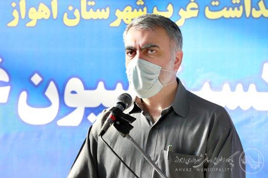افتتاح مرکز تجمیعی واکسیناسیون غدیر شهرداری اهواز