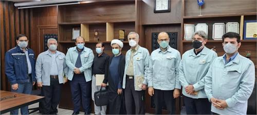 دیدار امین ابراهیمی مدیرعامل با آزادگان سرافراز شرکت فولاد خوزستان